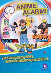 Anzeige in Printmagazinen für das neue Kinderprogramm