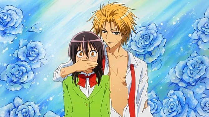 Maid Sama Stream Burning Series