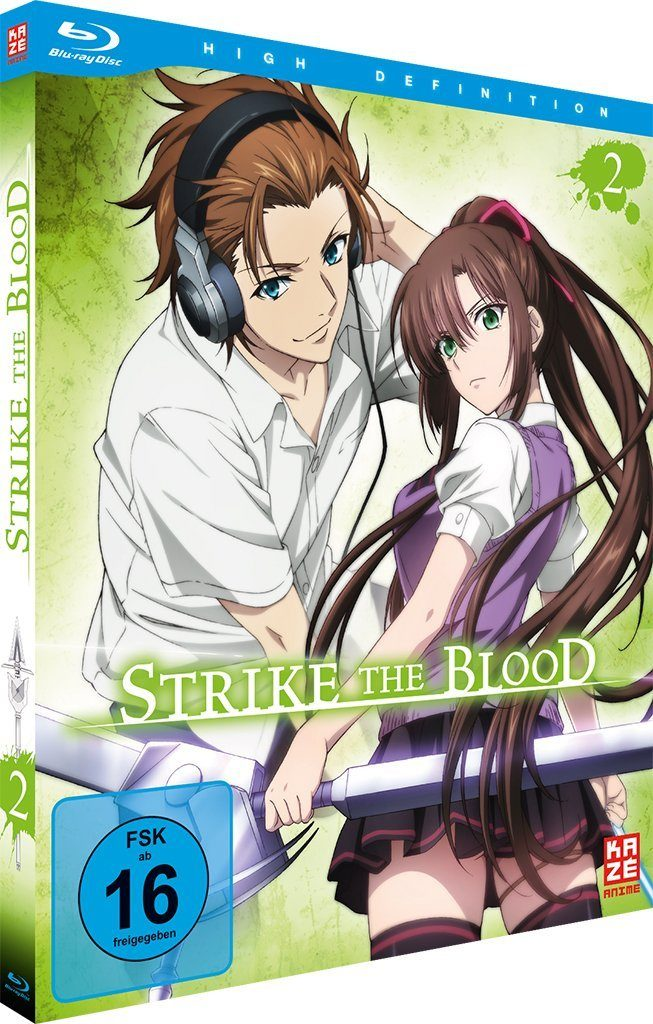 Strike The Blood Cover Des Zweiten Volumes Anime2You