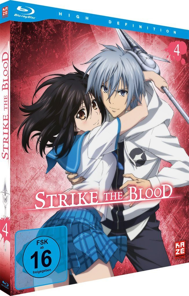 Strike The Blood Cover Des Vierten Volumes Anime2You