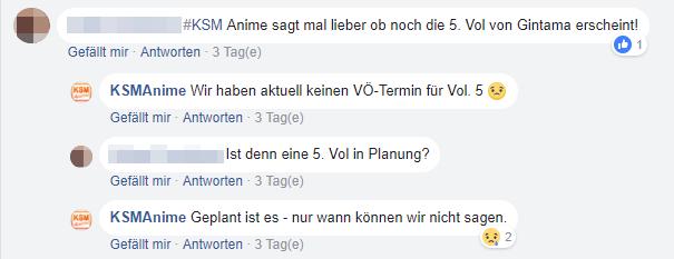 KSM Anime setzt \