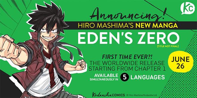 Edens Zero Weitere Details Und Neues Bild Zu Hiro Mashimas Neuem Manga Anime2You