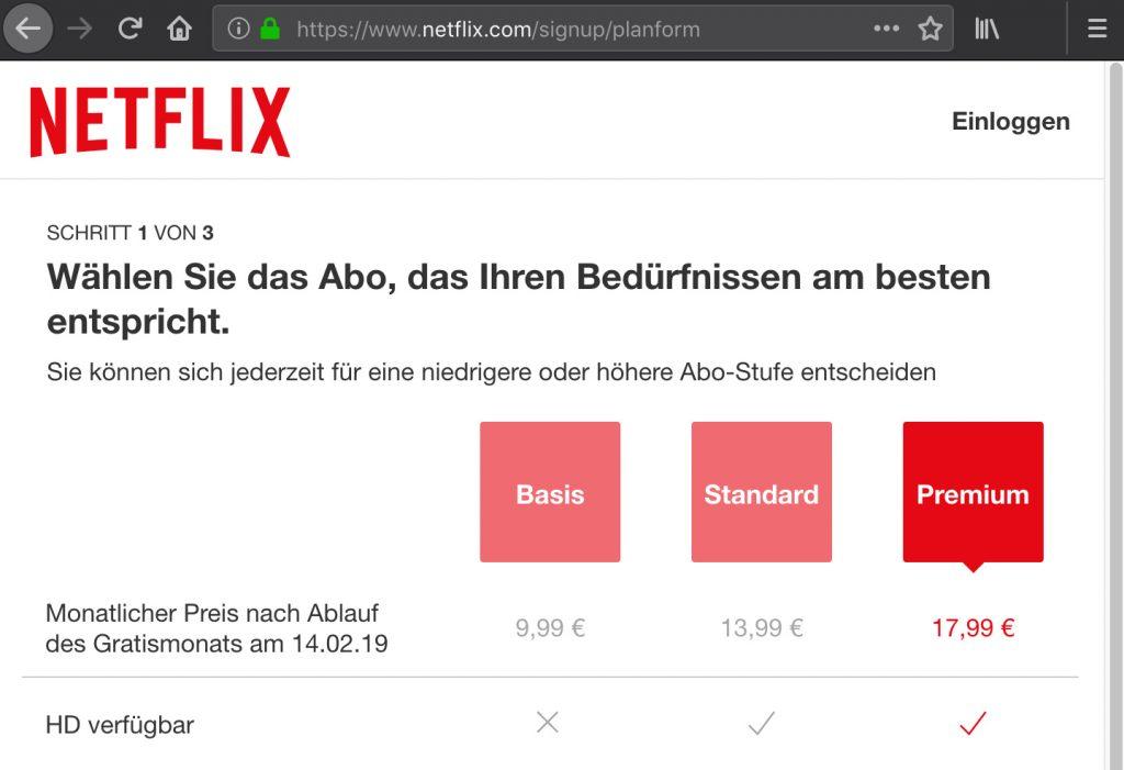 Was ist dran an der Preiserhöhung für Netflix?