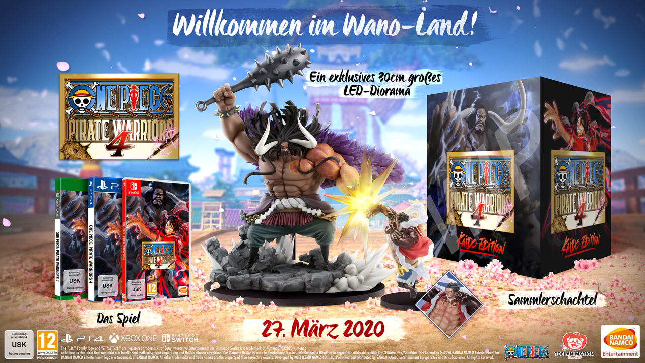 One Piece Pirate Warriors 4 Kaido-edition