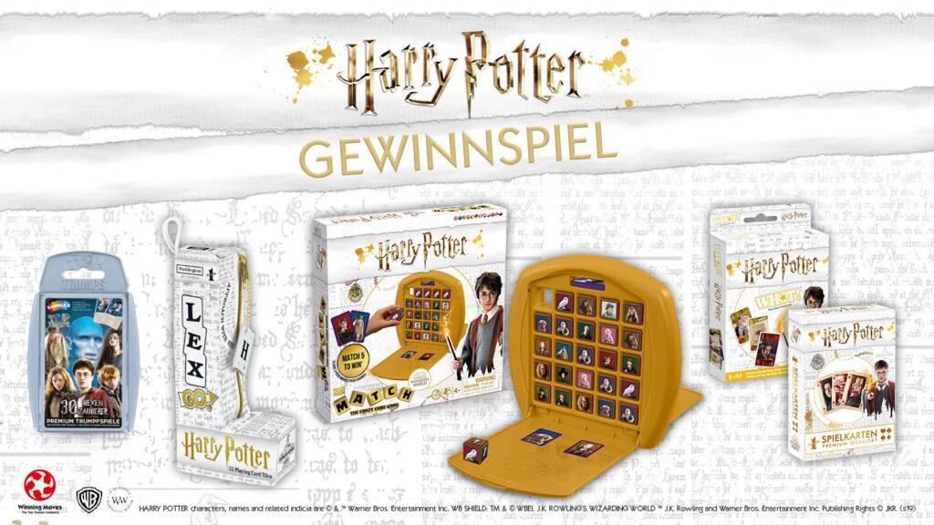 Gewinnspiel Harry Potter Spielepaket Anime2you