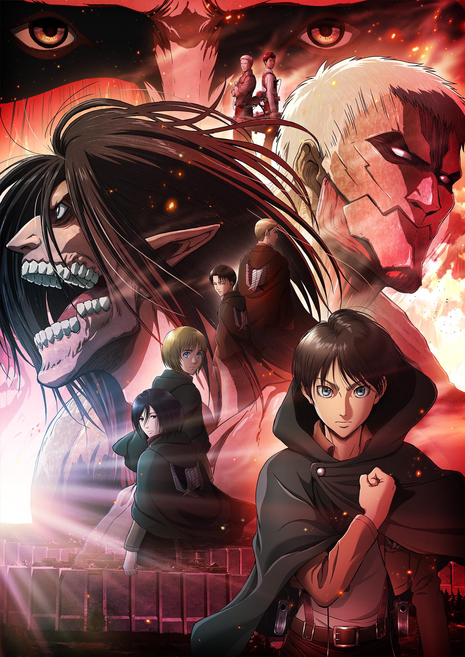Shingeki No Kyojin Staffel 2